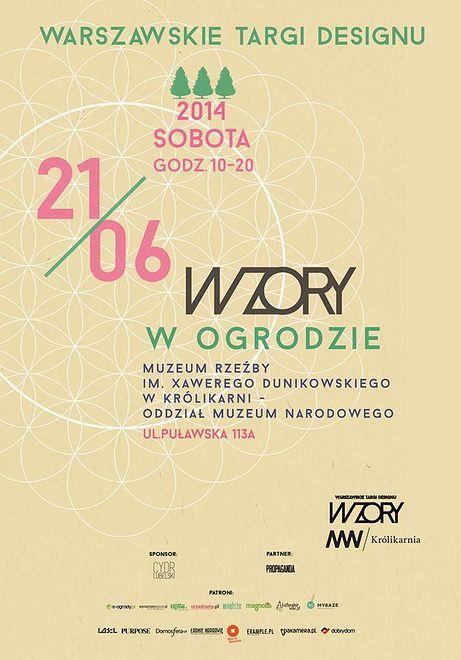 W ten weekend WZORY - warszawskie targi designu