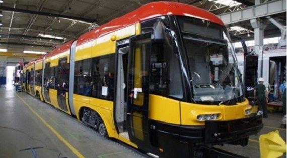 Pierwszy z nowych tramwajów już w Warszawie!