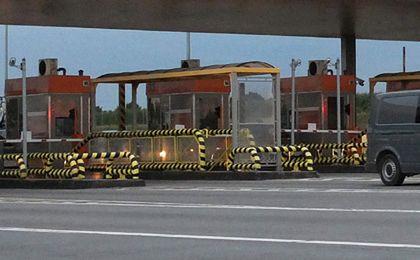 Inkasent na autostradzie - stresująca praca bez przyszłości?