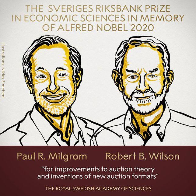 Nobel z ekonomii 2020. Paul R. Milgrom i Robert B. Wilson