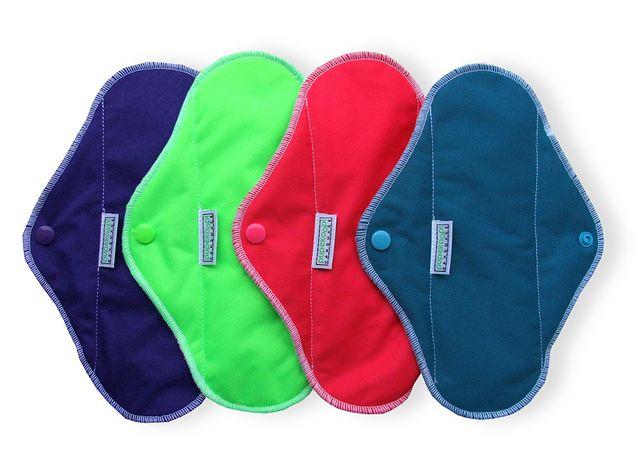 Ekologiczna podpaska jest dobrą alternatywą dla zwykłych, jednorazowych podpasek.