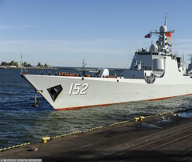 Chińskie okręty wojskowe stacjonują w pobliżu wód terytorialnych Tajwanu