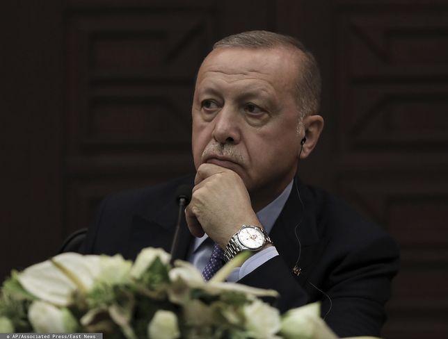 Turcja. Prezydent Recep Tayyip Erdogan