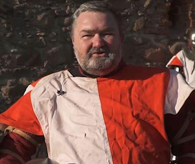 Karol Karski w spocie jako rycerz