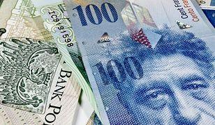Polski złoty i frank szwajcarski