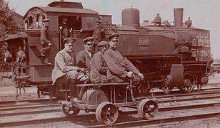 Początki kolei na polskich ziemiach były bardzo trudne