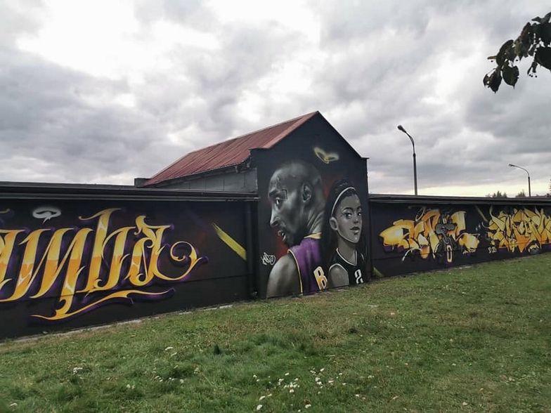 Polacy upamiętnili legendę. Niesamowity mural w Starogardzie Gdańskim