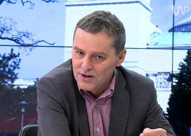 Cezary Gmyz: nietypowe zachowanie korespondenta TVP