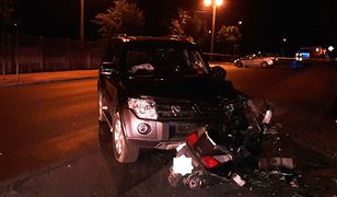 45-latek nie ustąpił pierwszeństwa prawidłowo jadącemu motorowerzyście