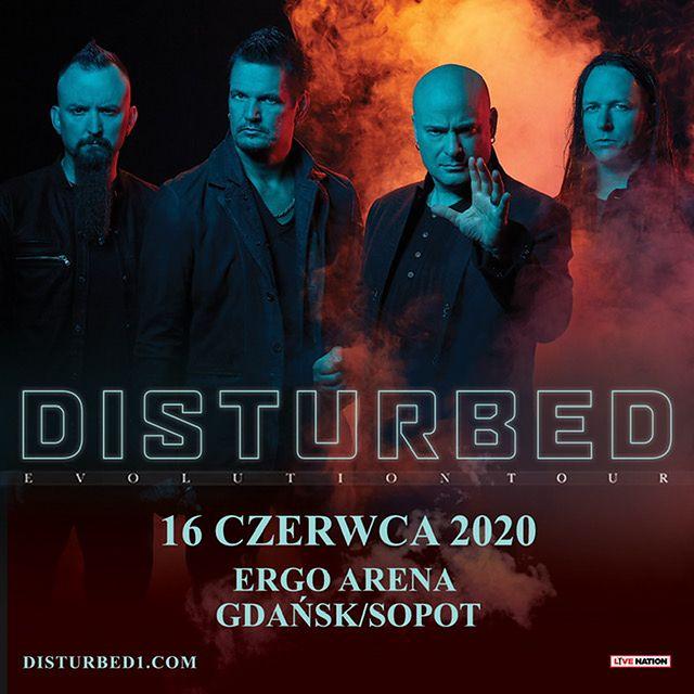 Szykuj się na mocne granie. Zespół Disturbed przyjedzie do Polski