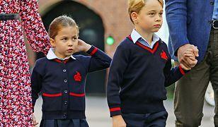 Księżniczka Charlotte i książę George są już małymi uczniami