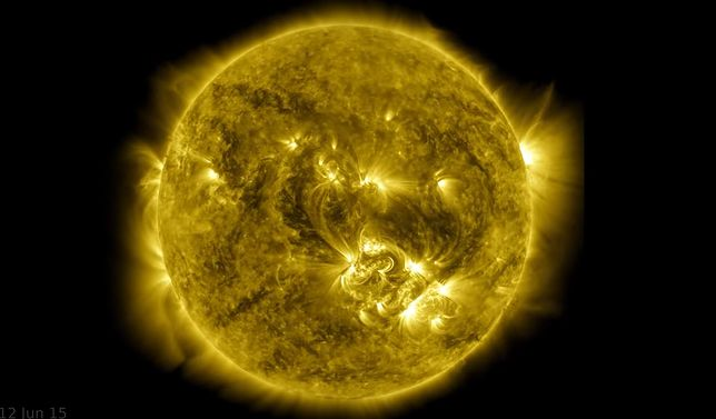 NASA opublikowała nowe zdjęcia Słońca