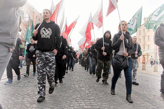 Marsz ONR w Białymstoku