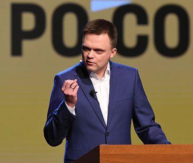 Szymon Hołownia chce pójść w ślady Wołodymyra Zełenskiego