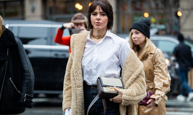 Płaszcz na jesień 2020: teddy bear coat