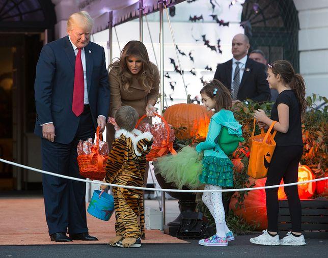 Tak Melania i Donald Trump obchodzili Halloween
