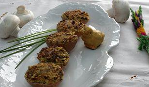 Pyszne jajka faszerowane z pieczarkami