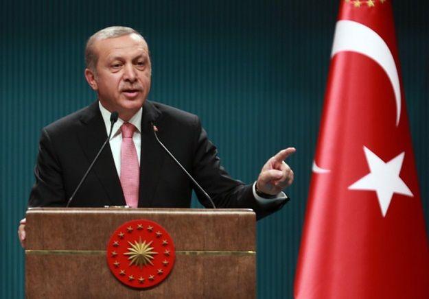 Recep Erdogan krytykuje Zachód za brak solidarności w Turcją