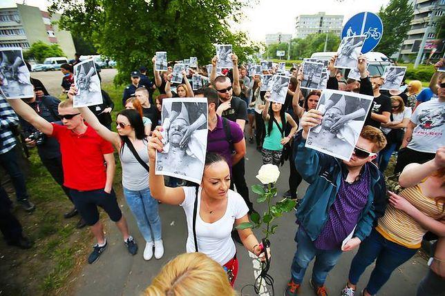 Marsz solidarności z rodziną Igora Stachowiaka