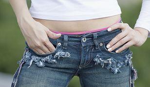 W kieszeni dżinsów kobieta znalazła niespodziankę