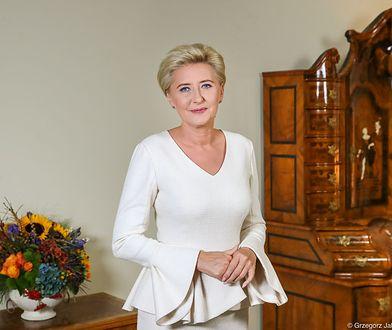 """Agata Kornhauser-Duda była patronką konkursu """"Integracja malowana dźwiękiem"""""""