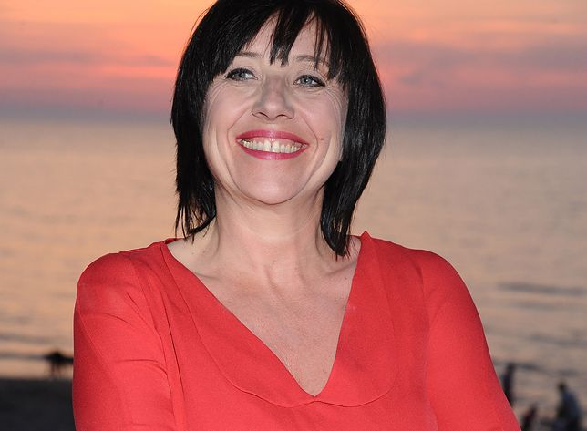 Hanna Śleszyńska na Festiwalu Gwiazd w Międzyzdrojach