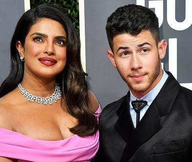 Priyanka Chopra i Nick Jonas – gala Złotych Globów