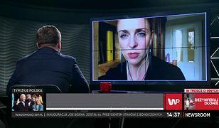 """Joanna Mucha o pożegnaniu z Borysem Budką. """"Nie było okazji"""""""