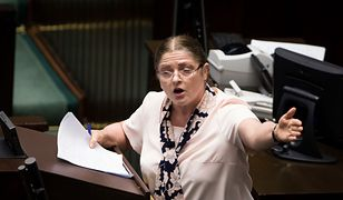 Krystyna Pawłowicz podniosła alarm