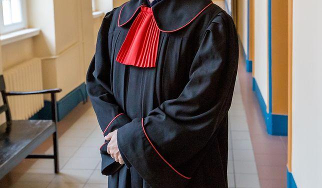 Prokurator w todze - zdj. ilustracyjne