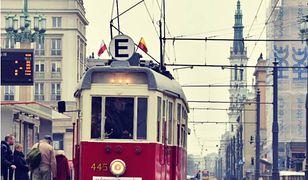 Zabytkowe tramwaje na stołecznych torach