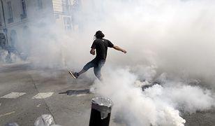 Francja. Starcia policji z protestującymi w Nantes