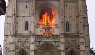 Francja. Pożar w katedrze św. Piotra i Pawła w Nantes. Jaka jest jej historia?