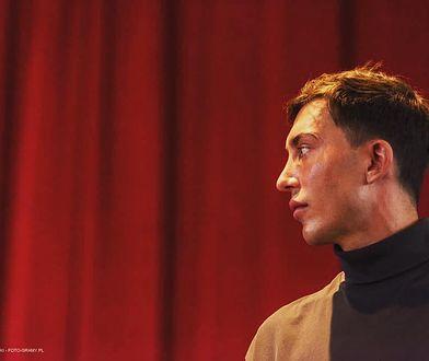 """Wiktor Krajewski, autor książki """"Chciałbym nigdy cię nie poznać"""""""