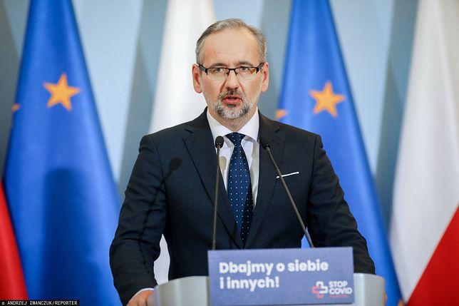 """Minister Zdrowa: """"Rozważamy ograniczenie usług dla osób niezaszczepionych na COVID-19"""""""
