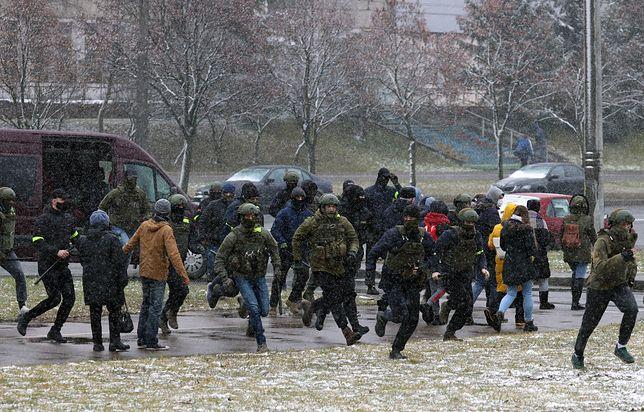 Białoruś. Zatrzymania w Mińsku