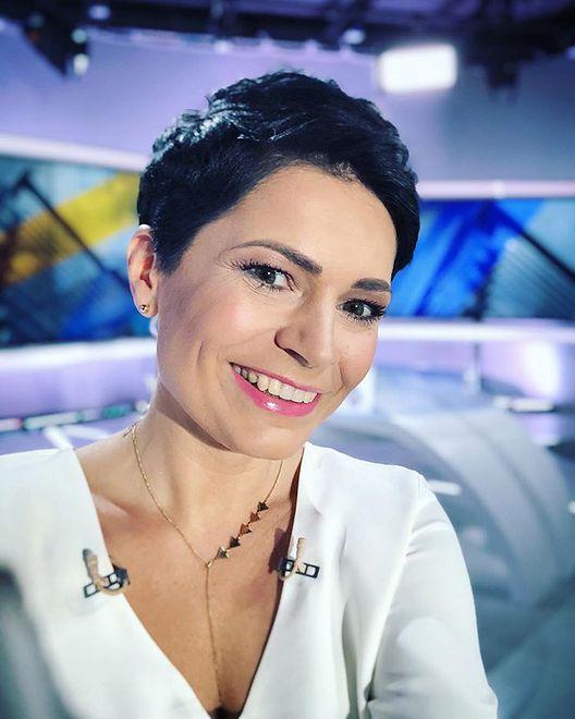 Joanna Górska na antenie Polsatu