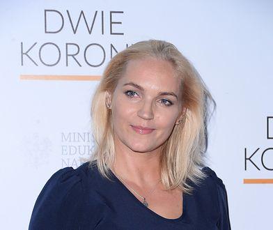 """Dominika Figurska na premierze filmu """"Dwie korony"""""""