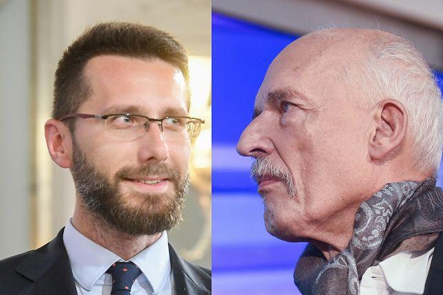 Radosław Fogiel (PiS), Janusz Korwin-Mikke (Konfederacja).