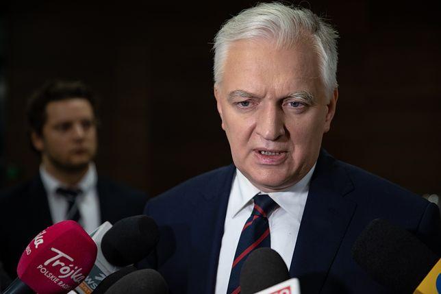 """Jarosław Gowin o aferze w Ministerstwie Sprawiedliwości. """"Niektórzy sędziowie naoglądali się serialu 'House of Cards'"""""""