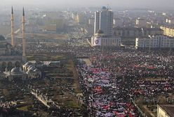 Wielki protest w Groznym. Sprzeciwiają się publikowaniu karykatur Mahometa