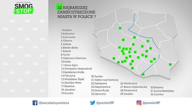 """Województwo świętokrzysko-łódzkie. Kancelaria Premiera z """"alternatywną"""" mapą Polski"""