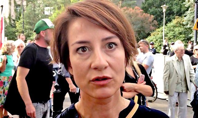 Aktorka teatralna i telewizyjna Maja Ostaszewska