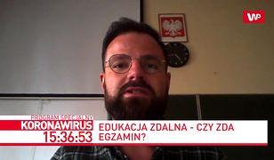 """Nauczyciel Kamil Olak o rządowych wytycznych: """"Sytuacja wydaje się absurdalna"""""""
