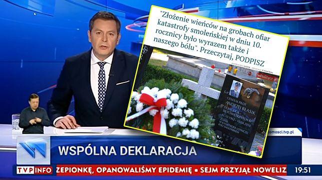 List poparcia dla wizyty na Powązkach z podpisem Kazika? Nie wyłapano żartu