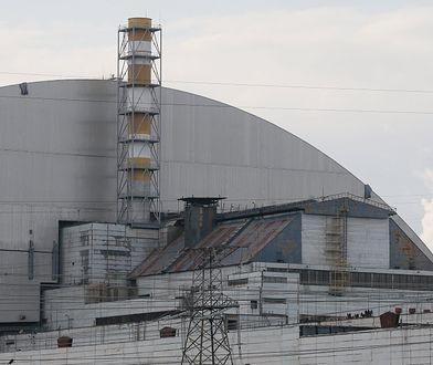 Nowy sarkofag nad zniszczonym reaktorem w Czarnobylu