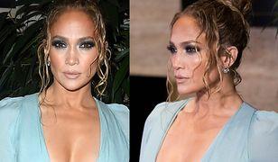 Jennifer Lopez ma słabość do głębokich dekoltów