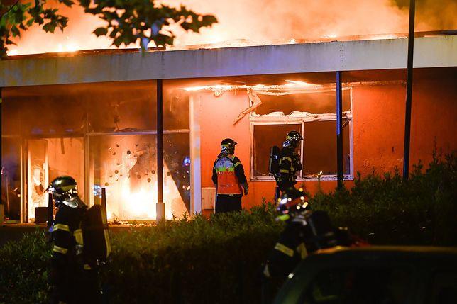 W Nantes od czterech dni trwają zamieszki