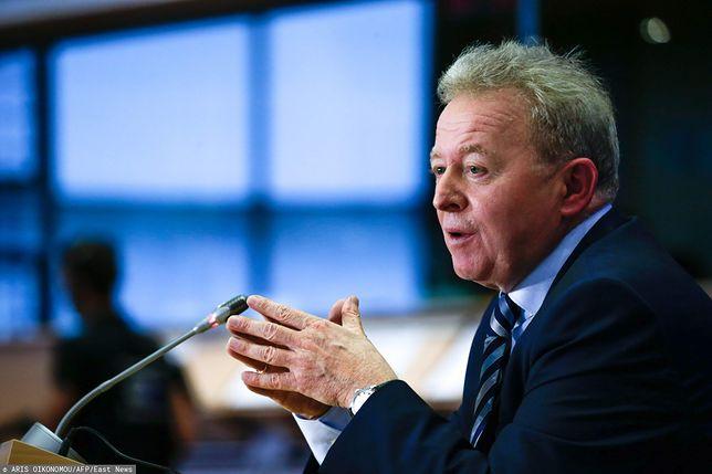 Komisja Europejska. Janusz Wojciechowski podczas przesłuchania w Brukseli
