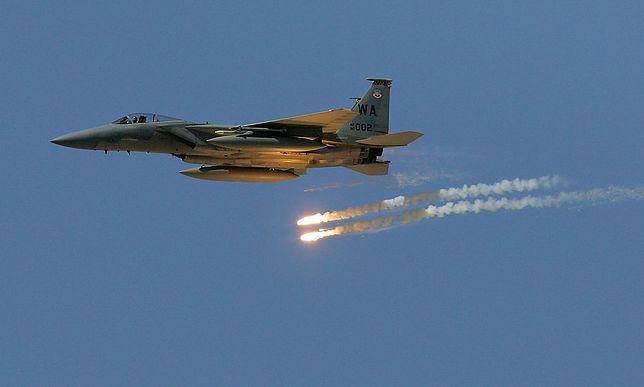 Rozbił się samolot bojowy F-16. Akcja ratunkowa zakończona